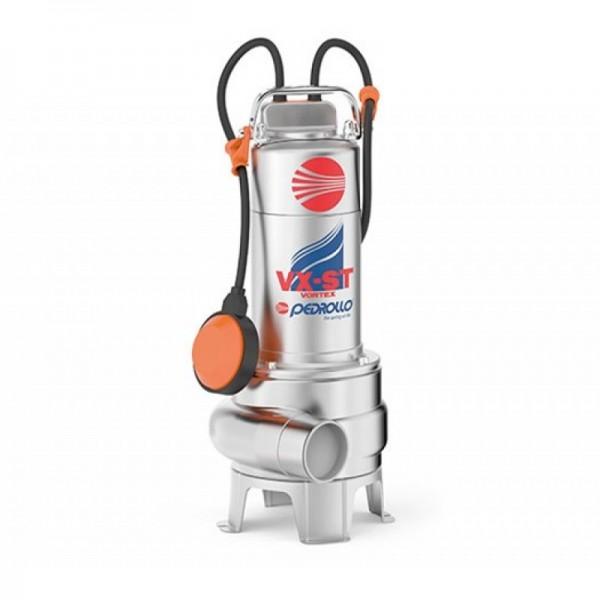 PEDROLLO VXm 10/50-ST Ανοξείδωτη υποβρύχια αντλία λυμάτων