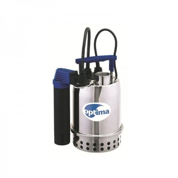 EBARA OPTIMA MS Ανοξείδωτη υποβρύχια αντλία ακαθάρτων με Μαγνητικό φλοτέρ