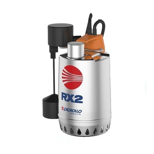 PEDROLLO RXm 4-GM Αντλία ακαθάρτων ανοξείδωτη με μαγνητικό φλοτερ